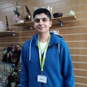 Kieran Volunteer