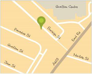Shops Maps Burleigh Street