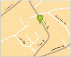 Shops Maps Cottenham