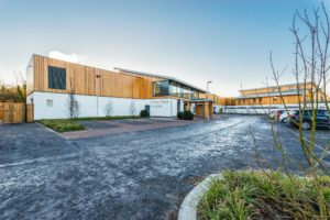 """(please credit 'courtesy of Andrew Wilkinson Photography'). Arthur Rank Hospice Charity moved to its state-of-the-art purpose-built facility in November 2016. CQC recognised that the building had been designed and built with the """"needs of patients and their relatives at the forefront of planning."""""""