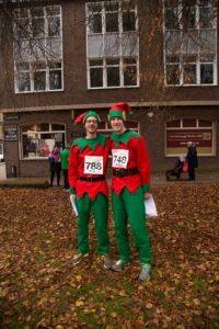 Fancy dress runners for Arthur Rank Hospice Charity