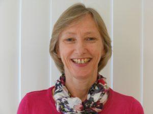 Trustee Julia Curtis at Arthur Rank Hospice Charity