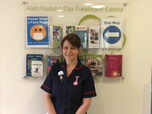 Claire Walpole Specialist Palliative Care Nurse Alan Hudson Day Treatment Centre for Arthur Rank Hospice Charity