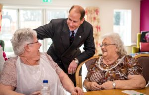 Earl of Wessex at Arthur Rank Hospice . Picture: Keith Heppell
