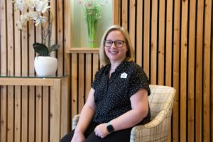 Kristie Foreman, Young Persons Transition Coordinator for Arthur Rank Hospice Charity