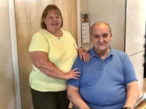 Bronwen and her husband Dave
